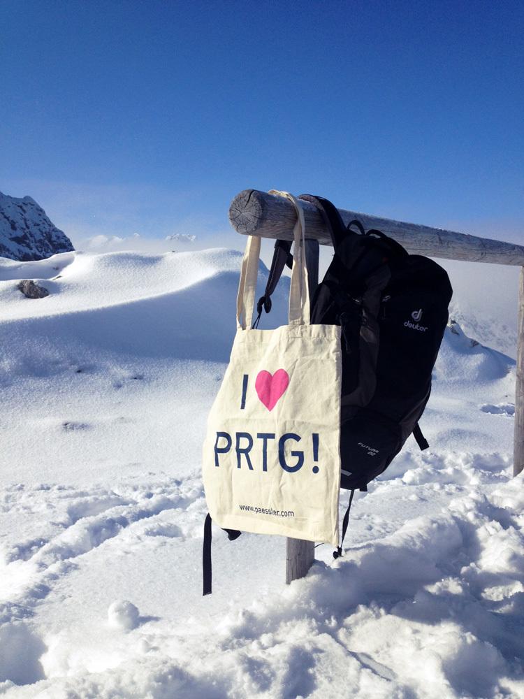 PRTG at Alpspitze, Germany