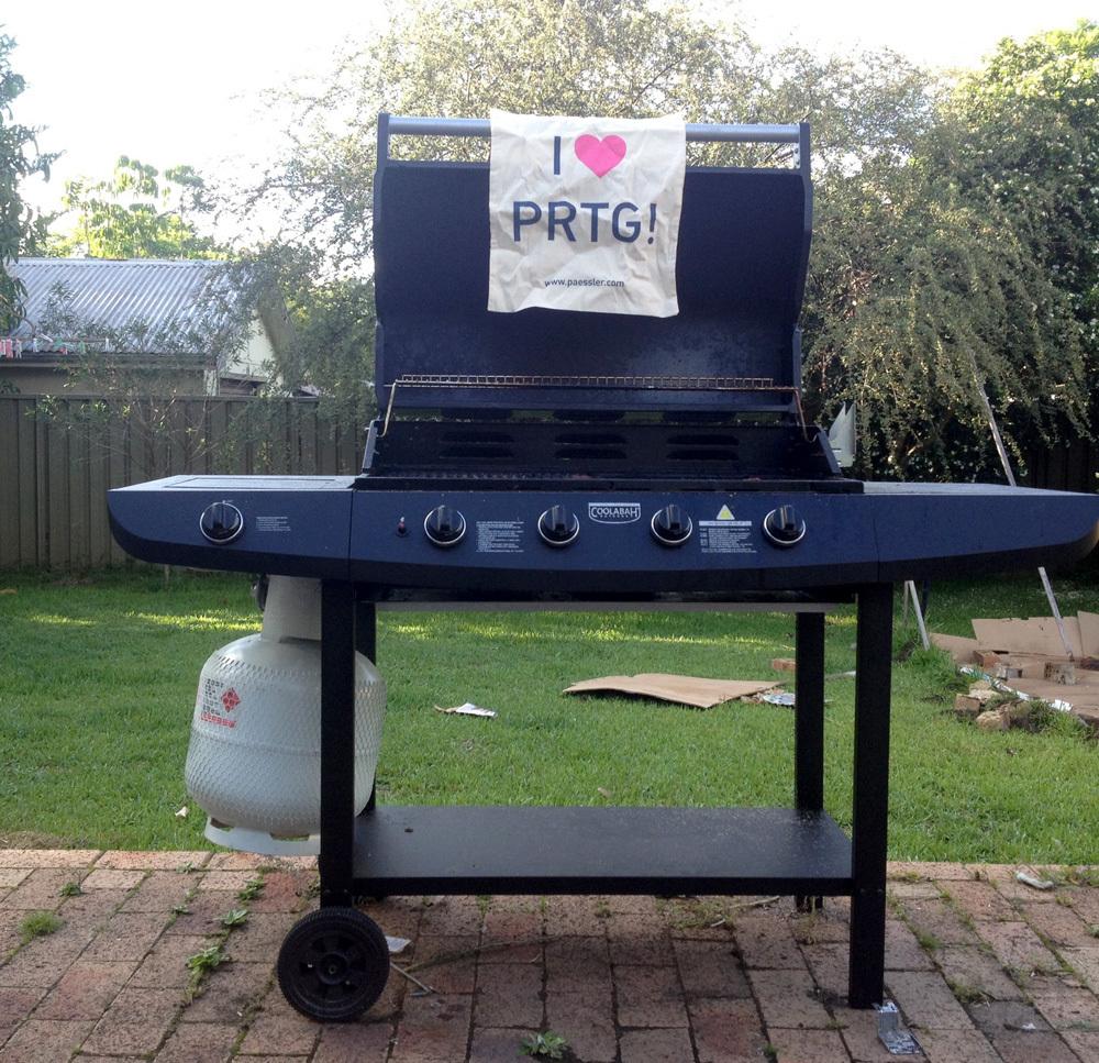 PRTG monitoring the great Aussie BBQ