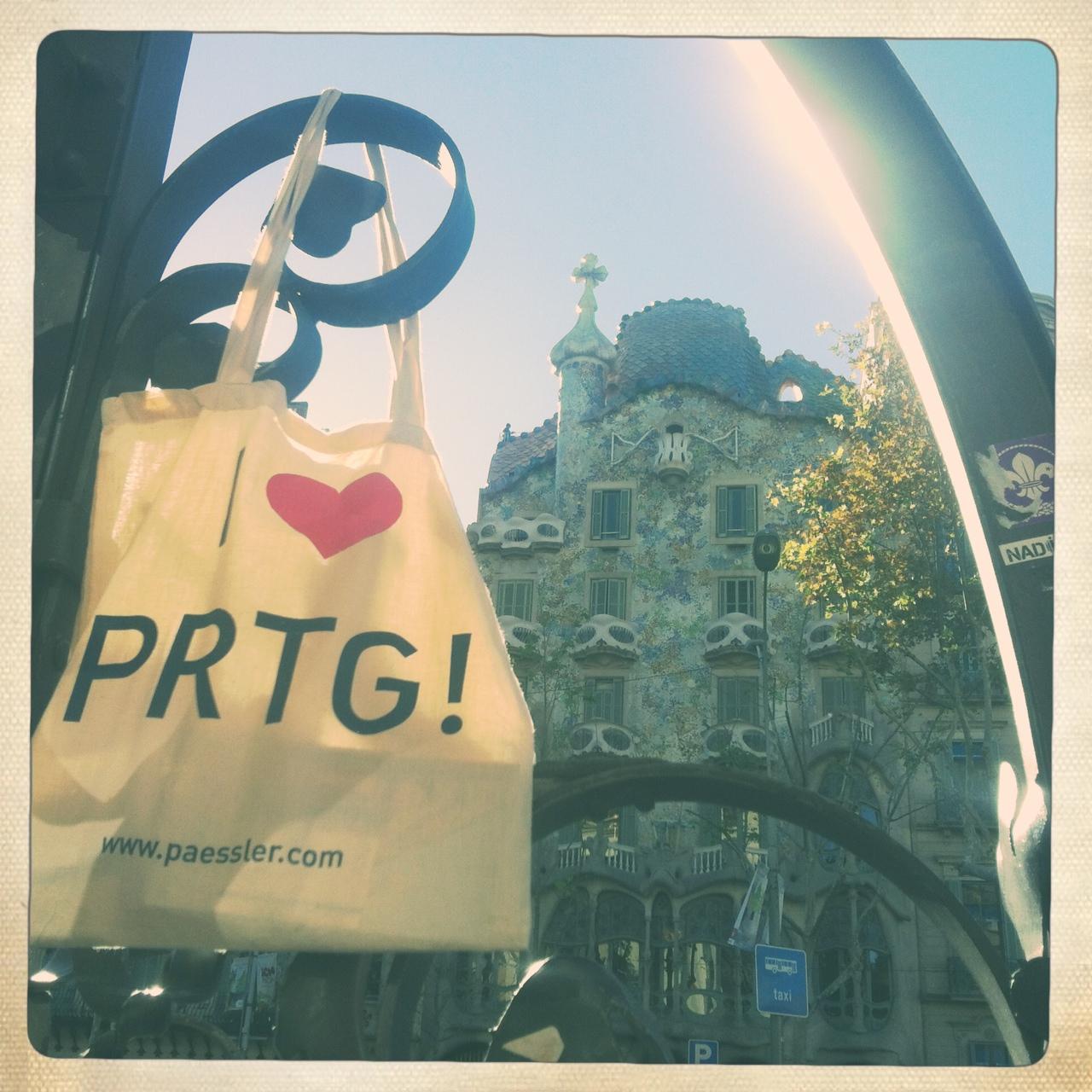 PRTG in Barcelona, Spain
