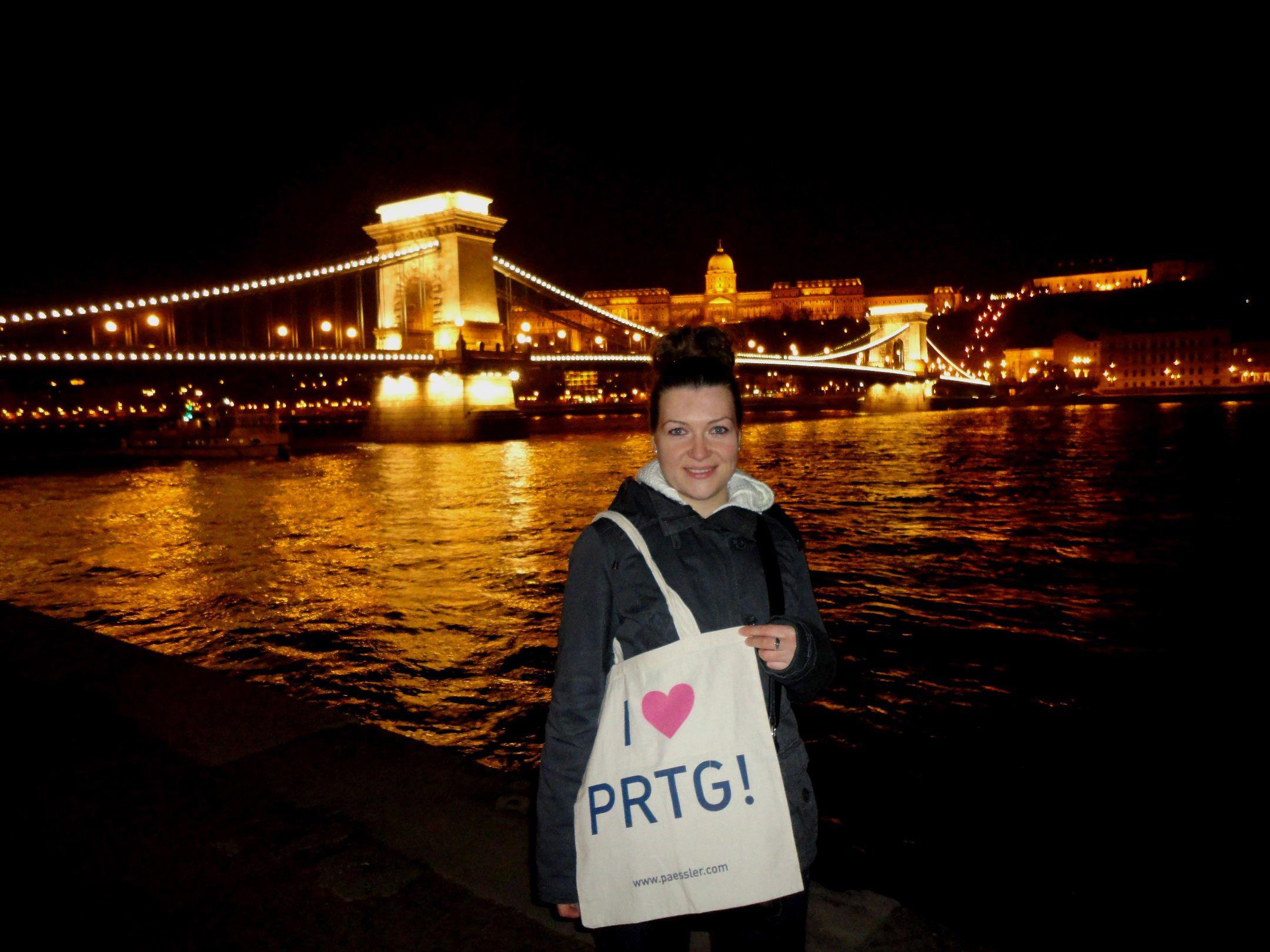 PRTG at Budapest, Hungary