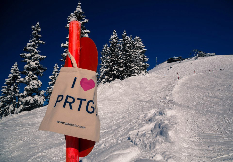 PRTG monitoring the snow conditions at Fellhorn/Kanzelwand, Germany/Austria!