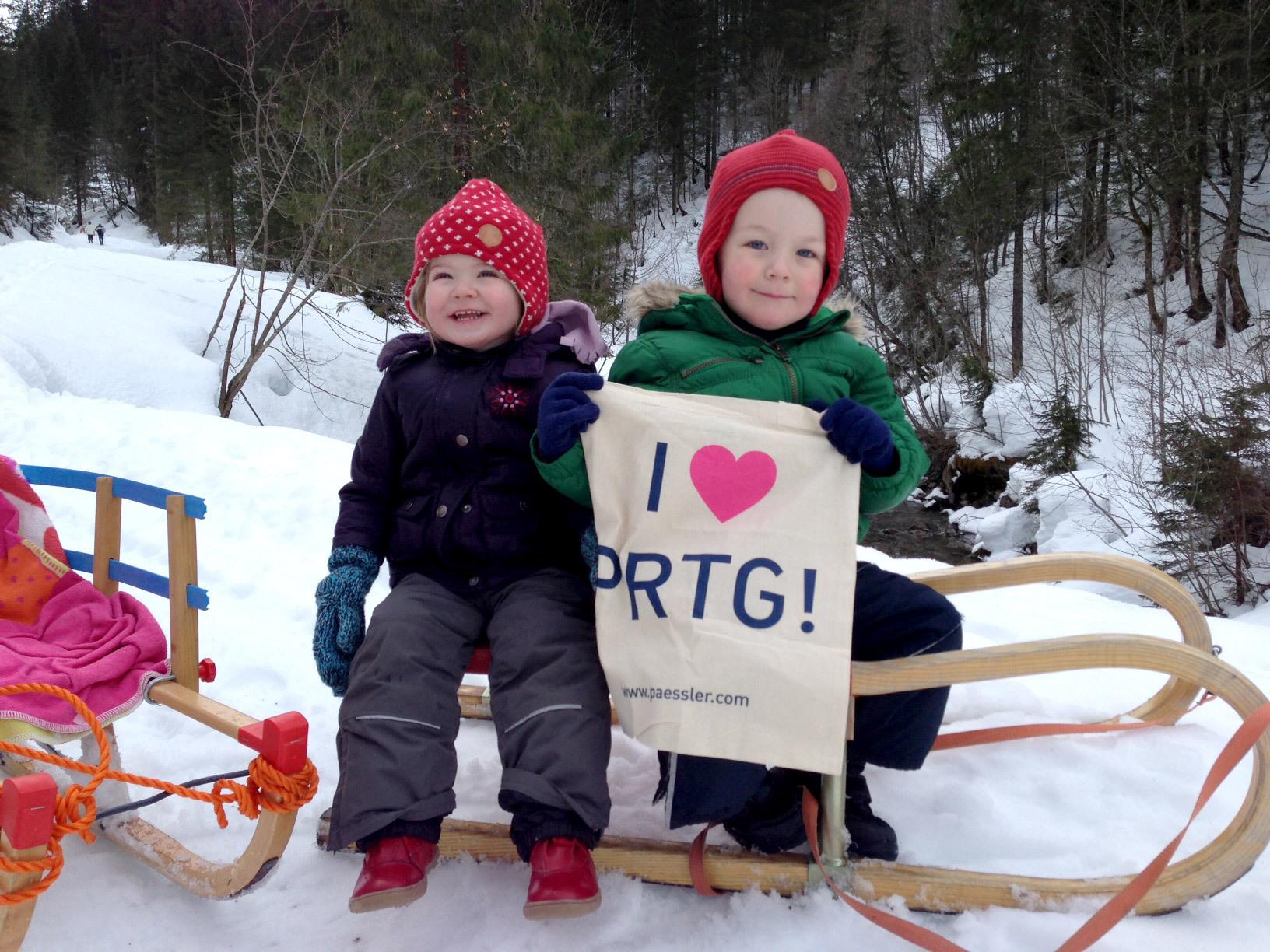 PRTG at Kleinwalsertal, Austria