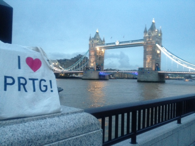 PRTG in London, Great Britain