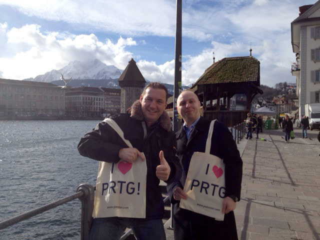 PRTG enjoying the wonderful