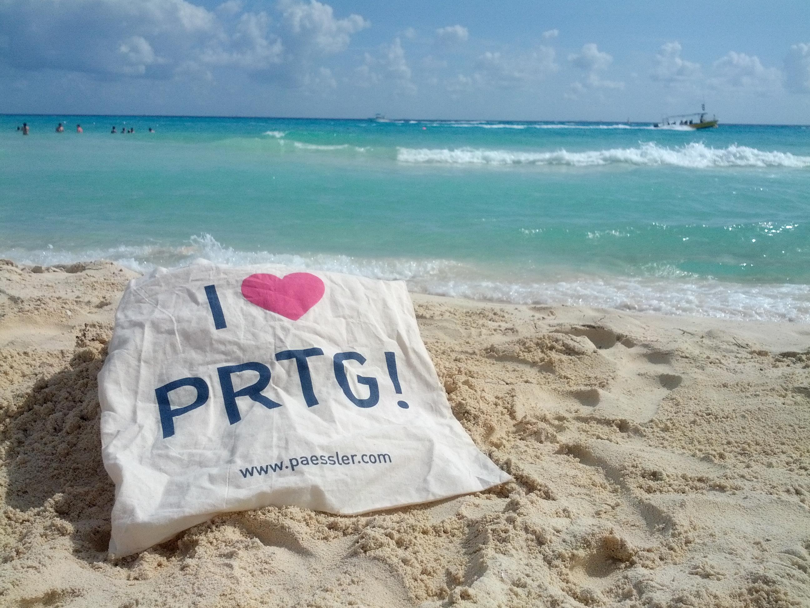 PRTG in Playa del Carmen, Mexico
