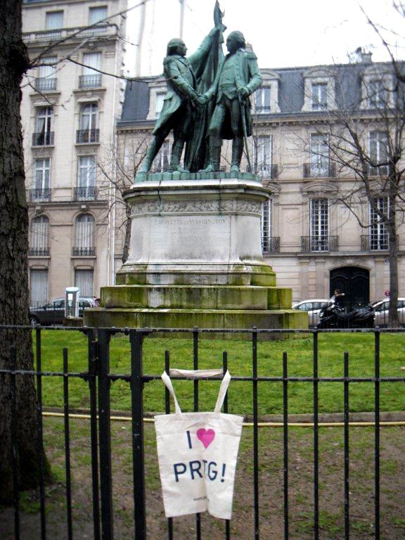 PRTG at Avenue Kléber - Paris, France
