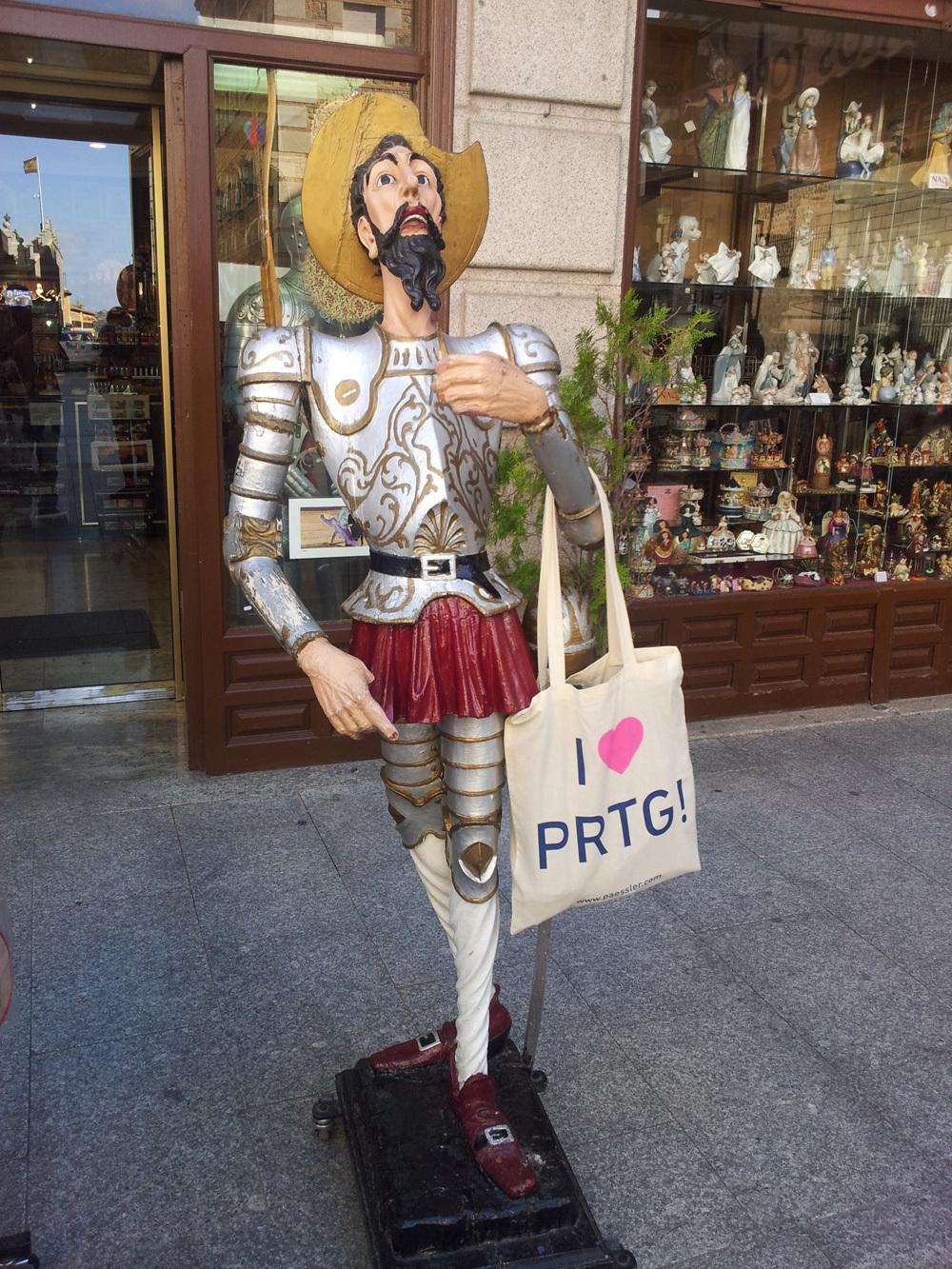 """Don Quijote de La Mancha"", (The Ingenious Gentleman). Toledo, Spain - Thanks to Danysoft Internacional!"