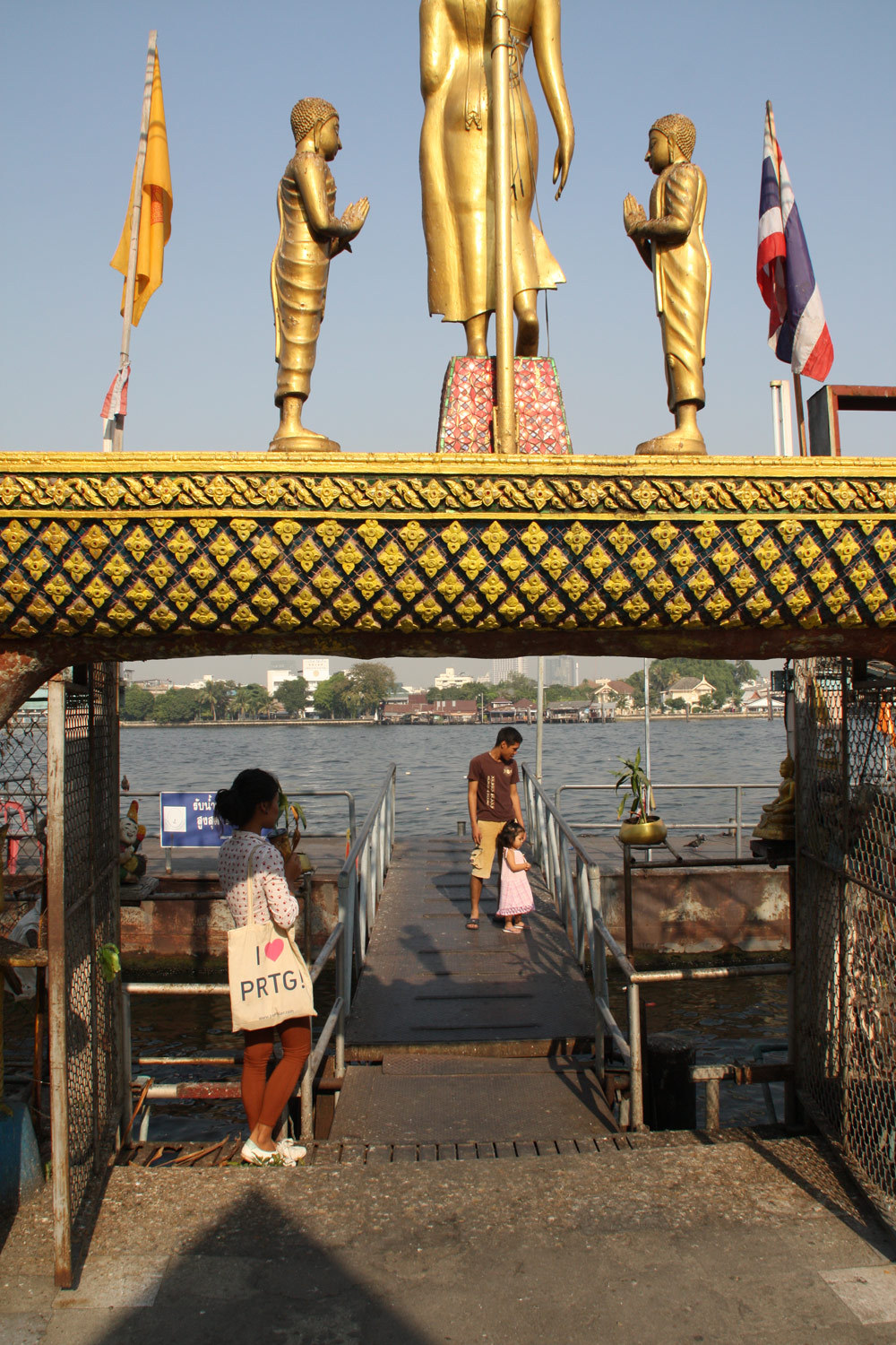Waiting for the water taxi: PRTG wants to monitor Bangkok from Chao Phraya River!