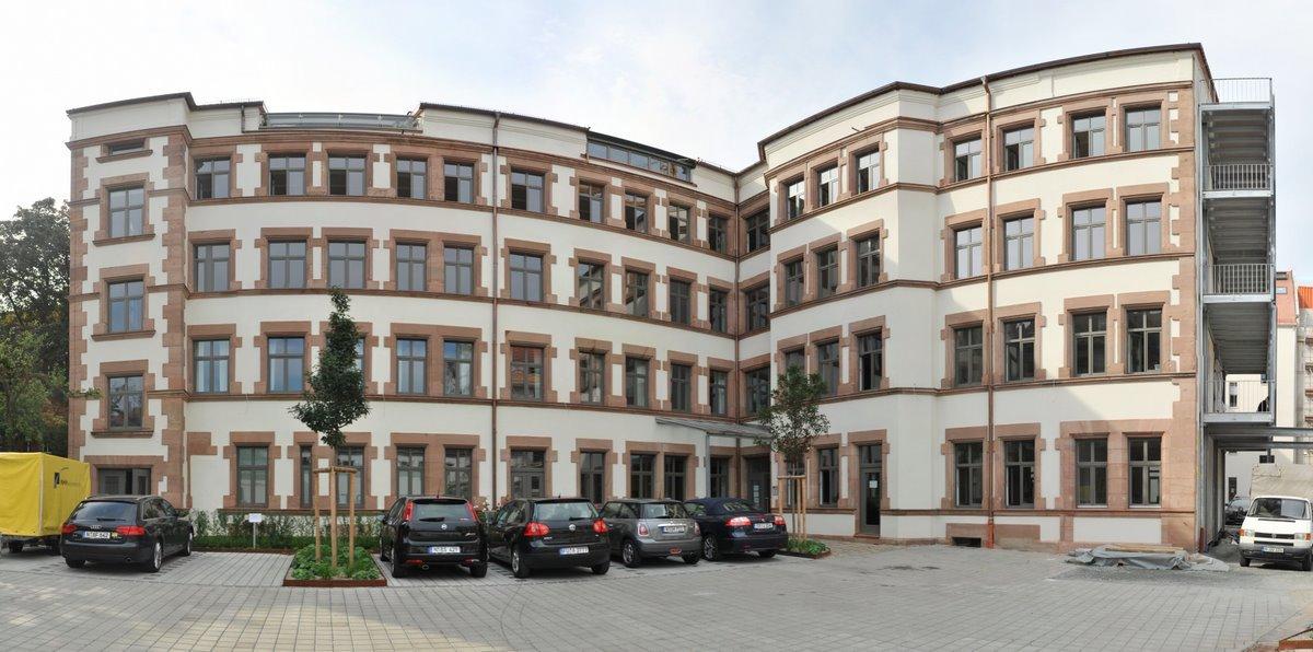 Neuer Paessler-Firmensitz in der Bucher Straße 79a, Nürnberg
