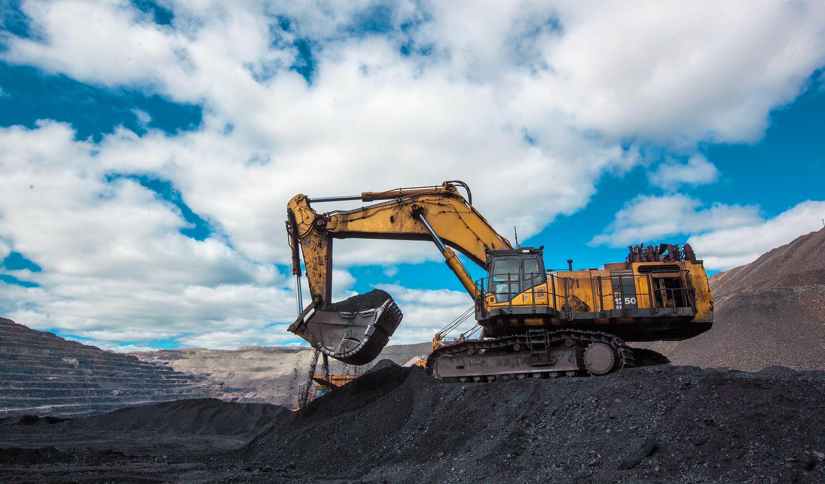 Добыча угля на Нерюнгринском разрезе