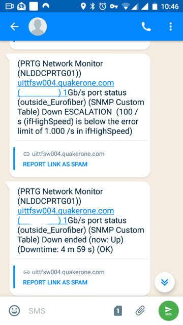 SMS Eagle Notifications 2