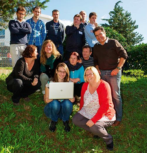 La Communauté d'agglomération de Saintes - une équipe dynamique