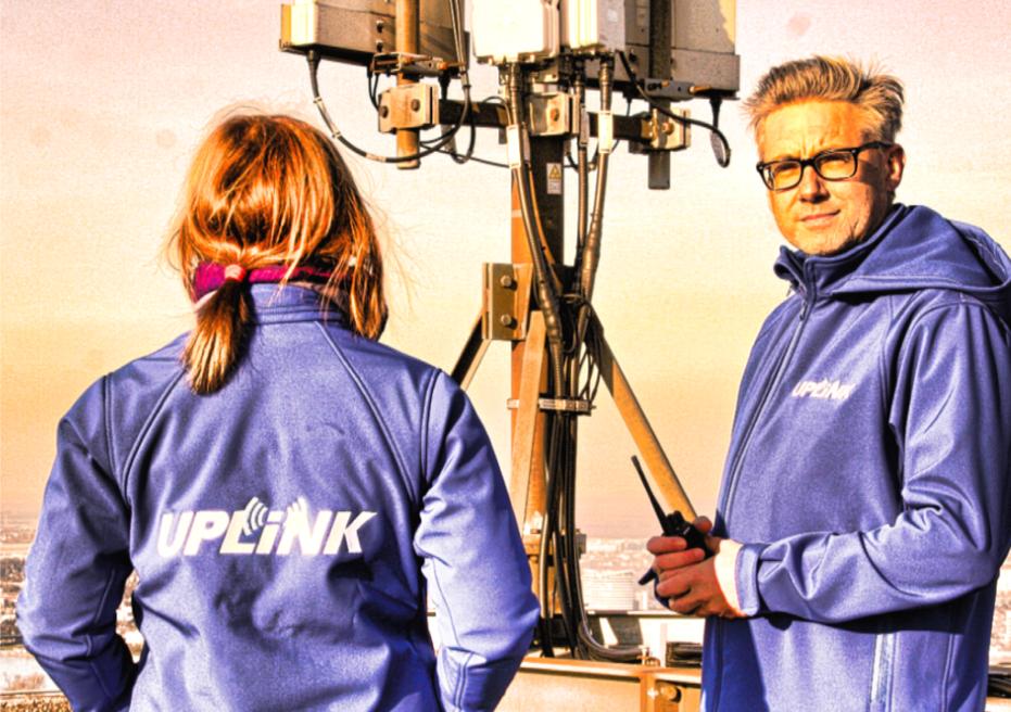 Das UPLINK-Team bei der Arbeit