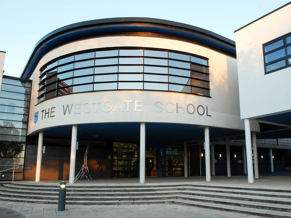 The Westgate School is located in Slough, West Berkshire