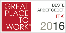Great Place to Work Award 2106