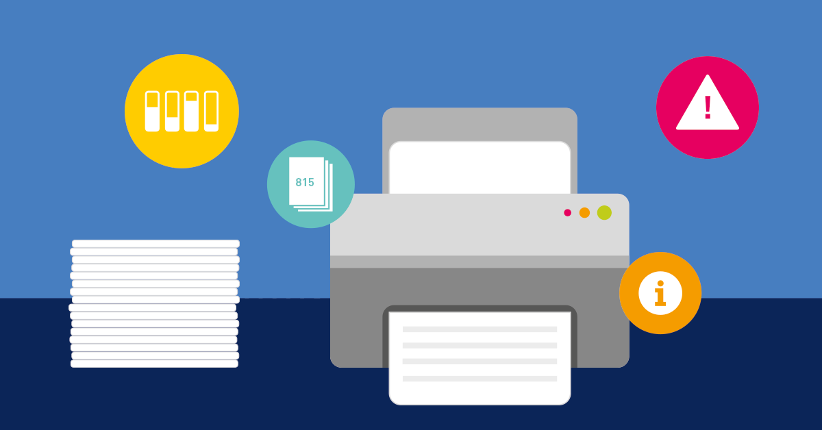 Printer Management | Monitor all printers with PRTG