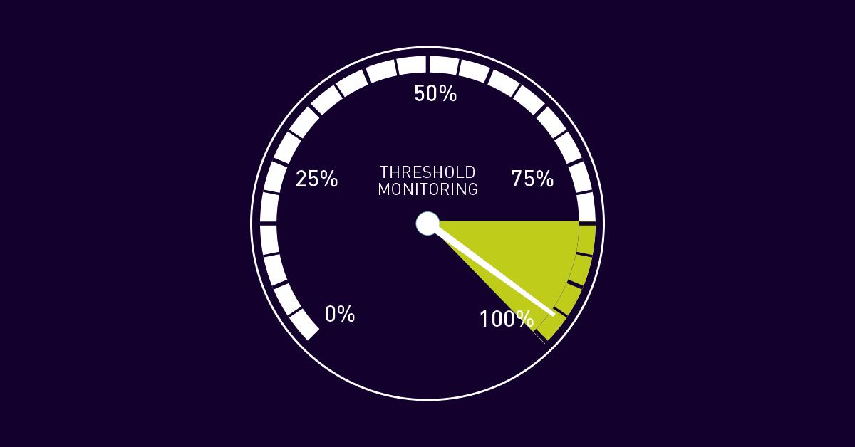 Supervisión de umbrales: vigile los valores de umbral con PRTG (Monitoring Topic, performance)