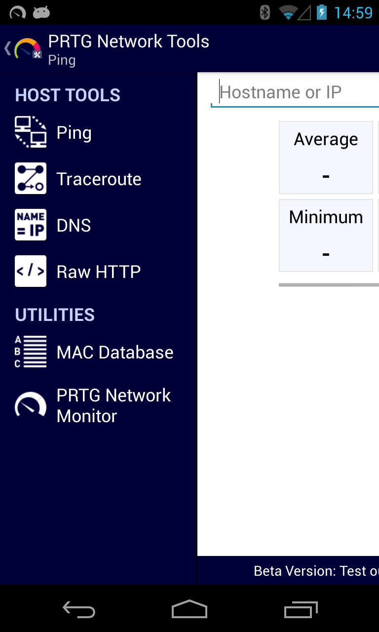 Network Monitoring to Go - PRTG for Android Out Now!