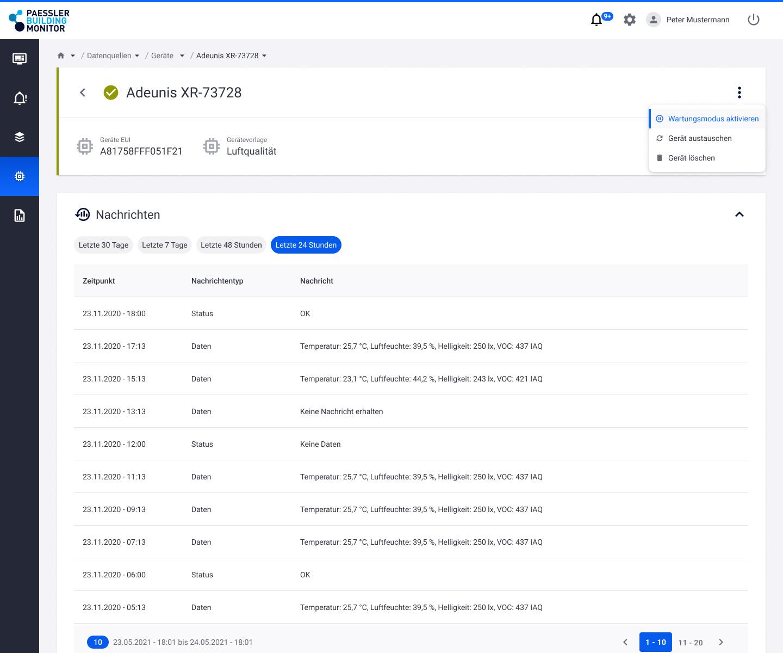 Screenshot Geräteverwaltung