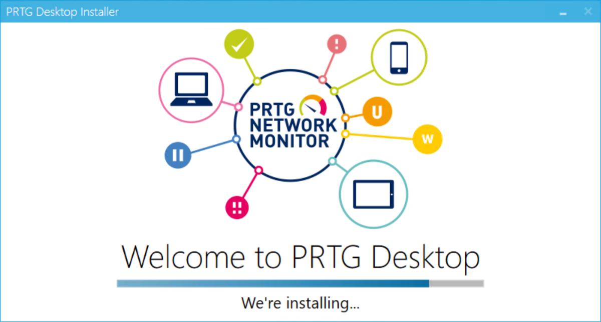 Installing PRTG Desktop