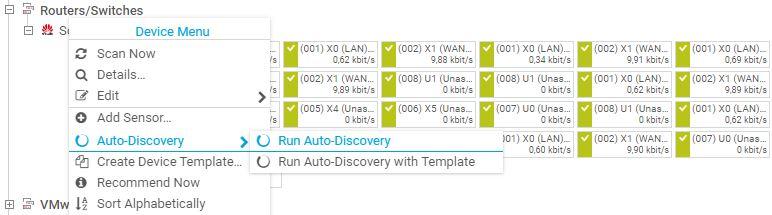 Run an auto-discovery