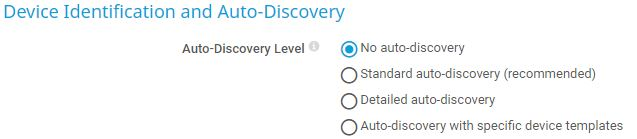 Disable auto-discovery