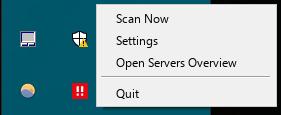 Open the context menu