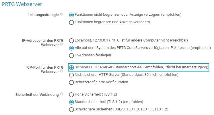 HTTPS konfigurieren