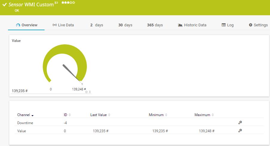 WMI Monitoring Software PRTG