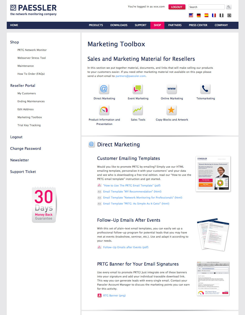 Online Marketing Toolbox