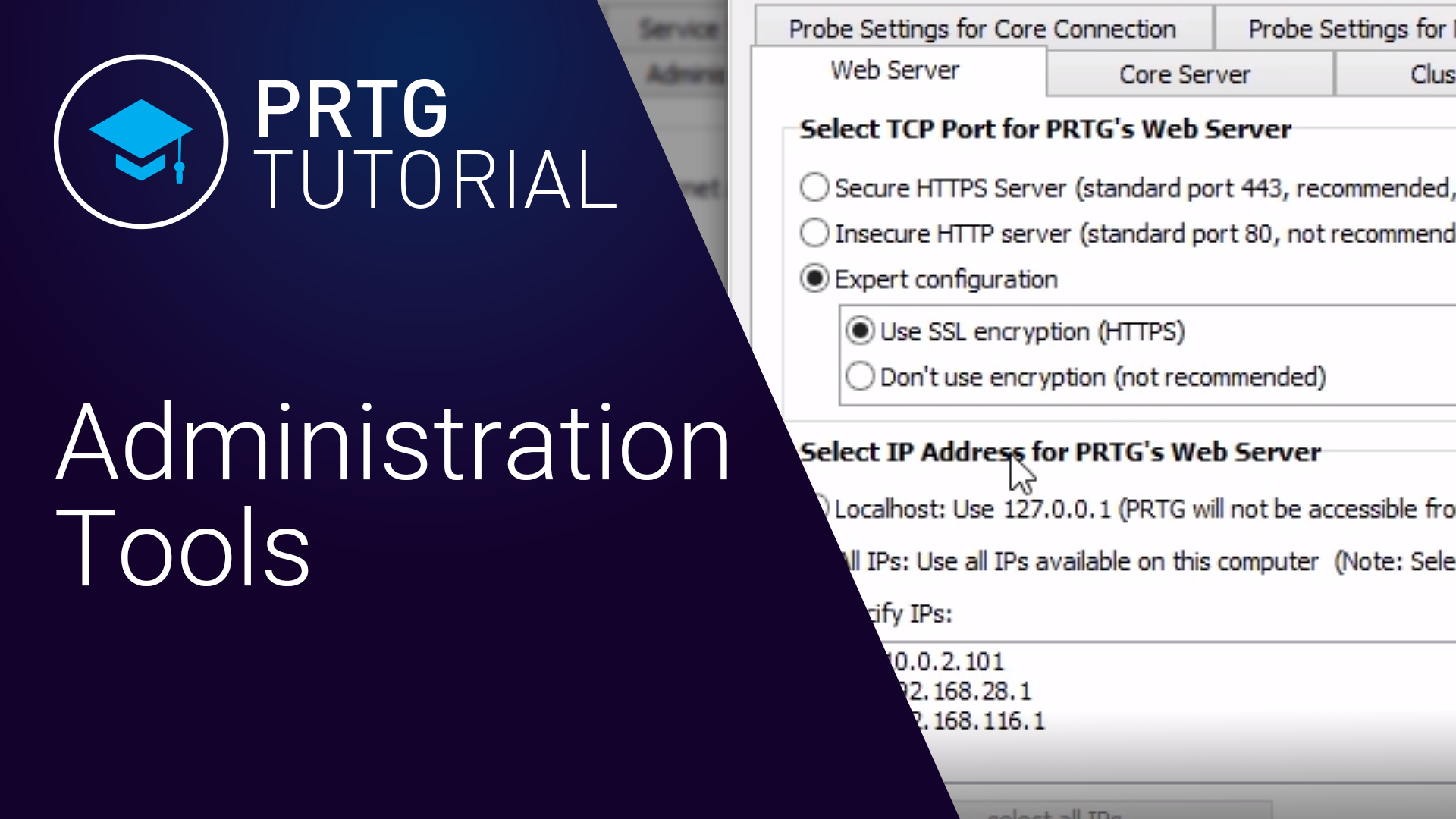 Video: PRTG Administration Tool (Videos, Applications)