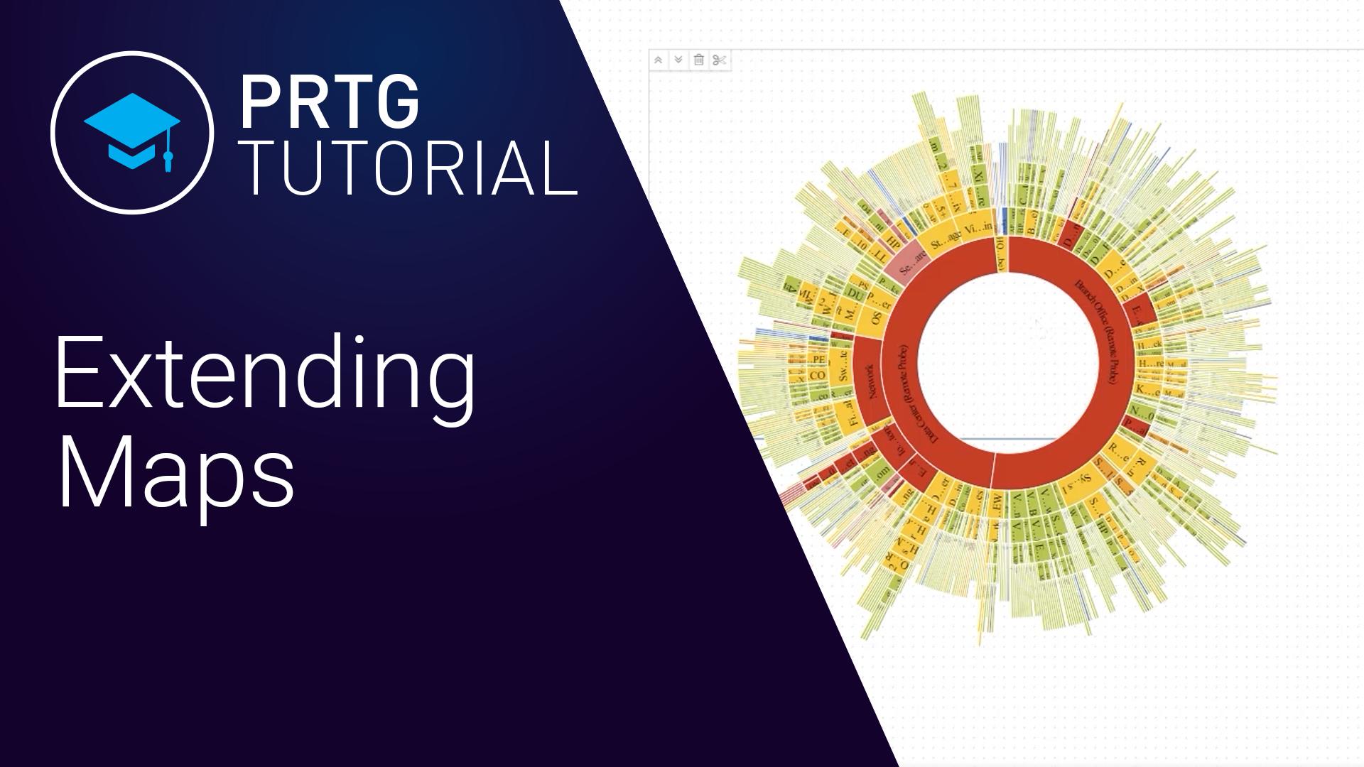 PRTG - Extending Maps (Videos, Maps)