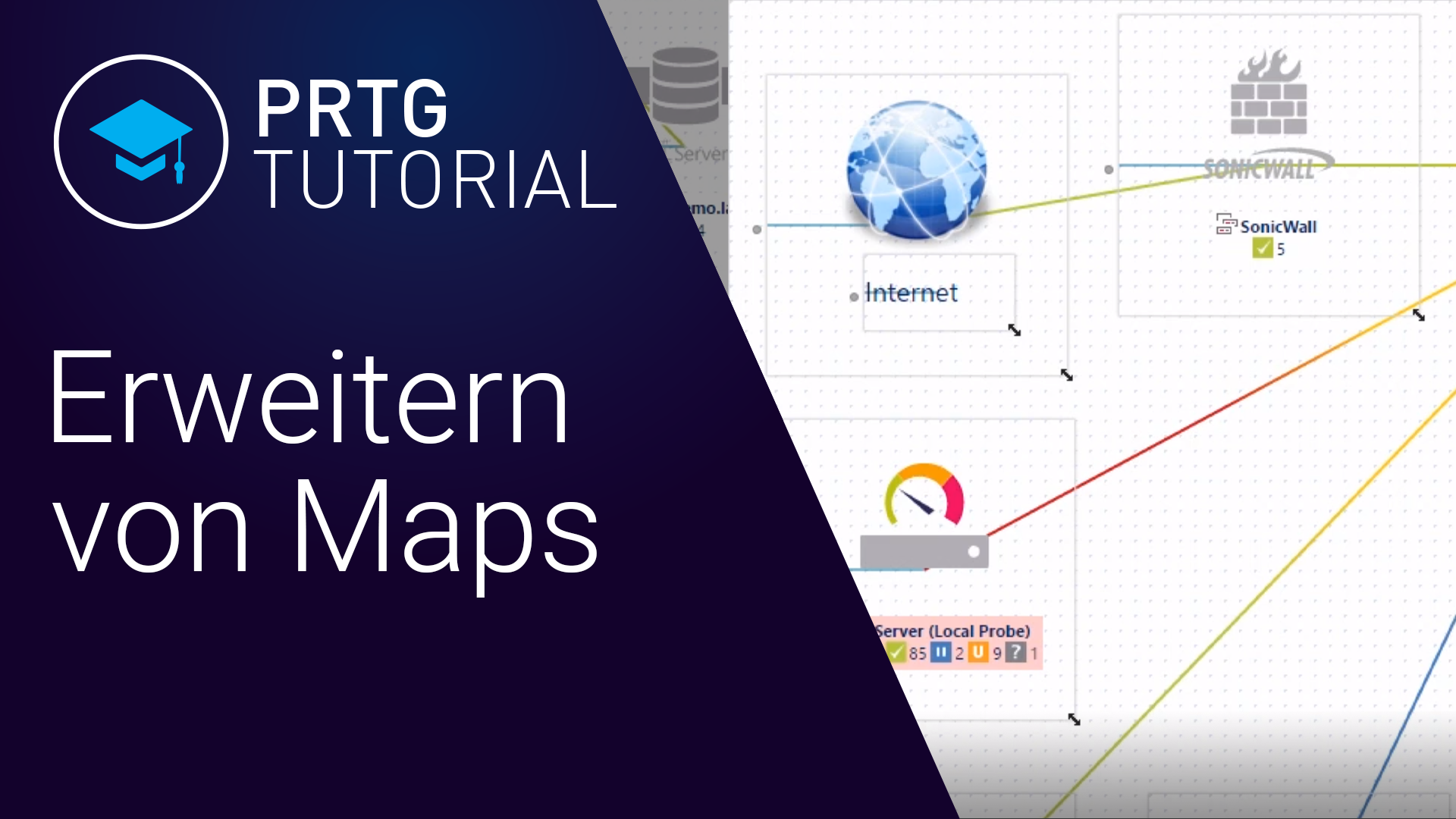Video: PRTG Network Monitor - Maps erweitern (Videos)