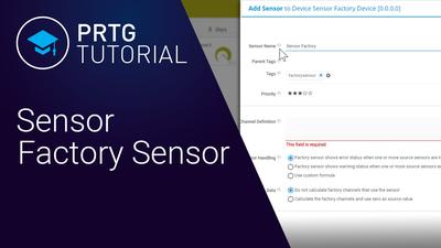 Video: Sensor Factory sensor (Videos, Sensors)