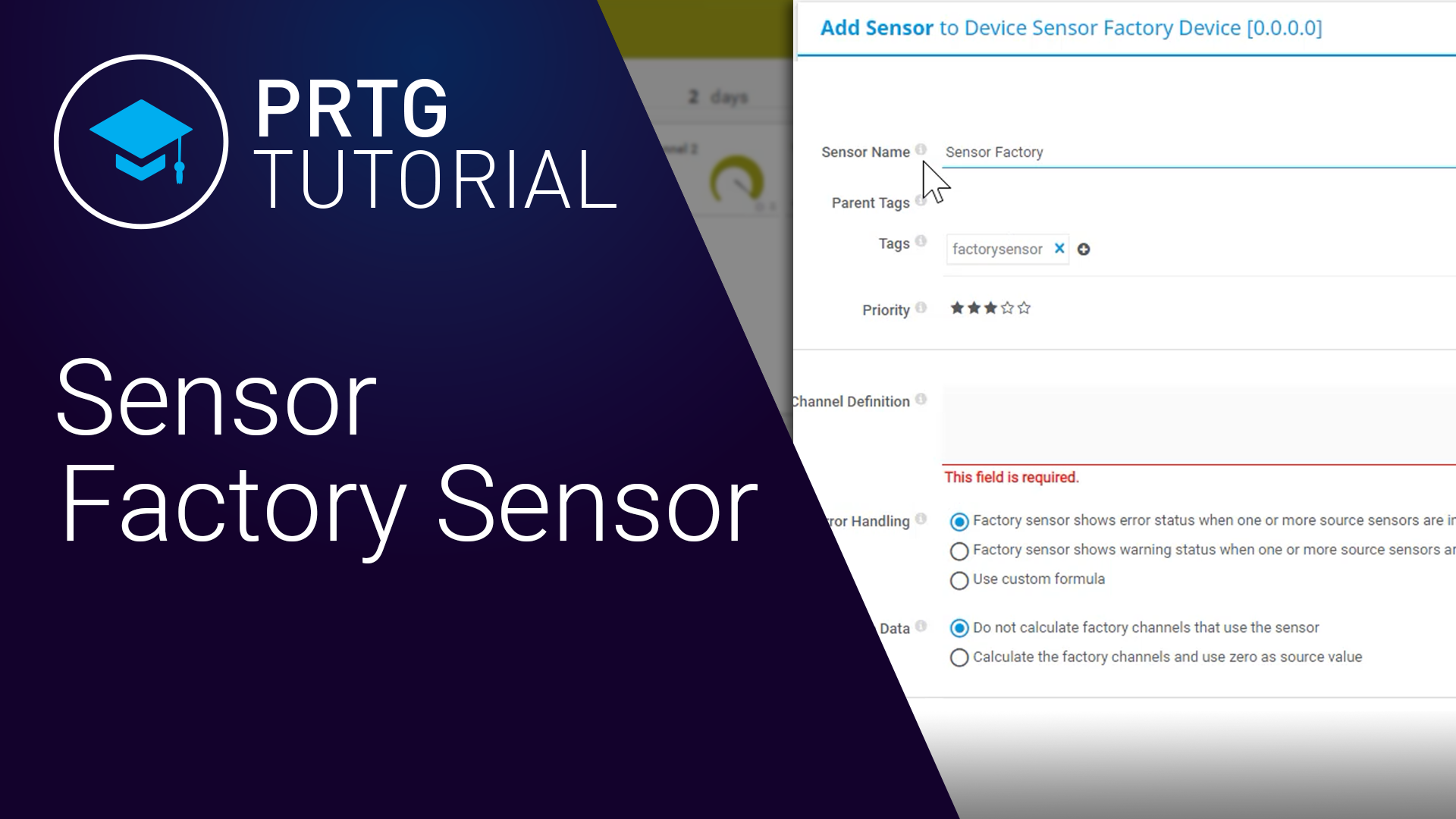 Video: PRTG - Sensor Factory sensor (Videos, Sensors)