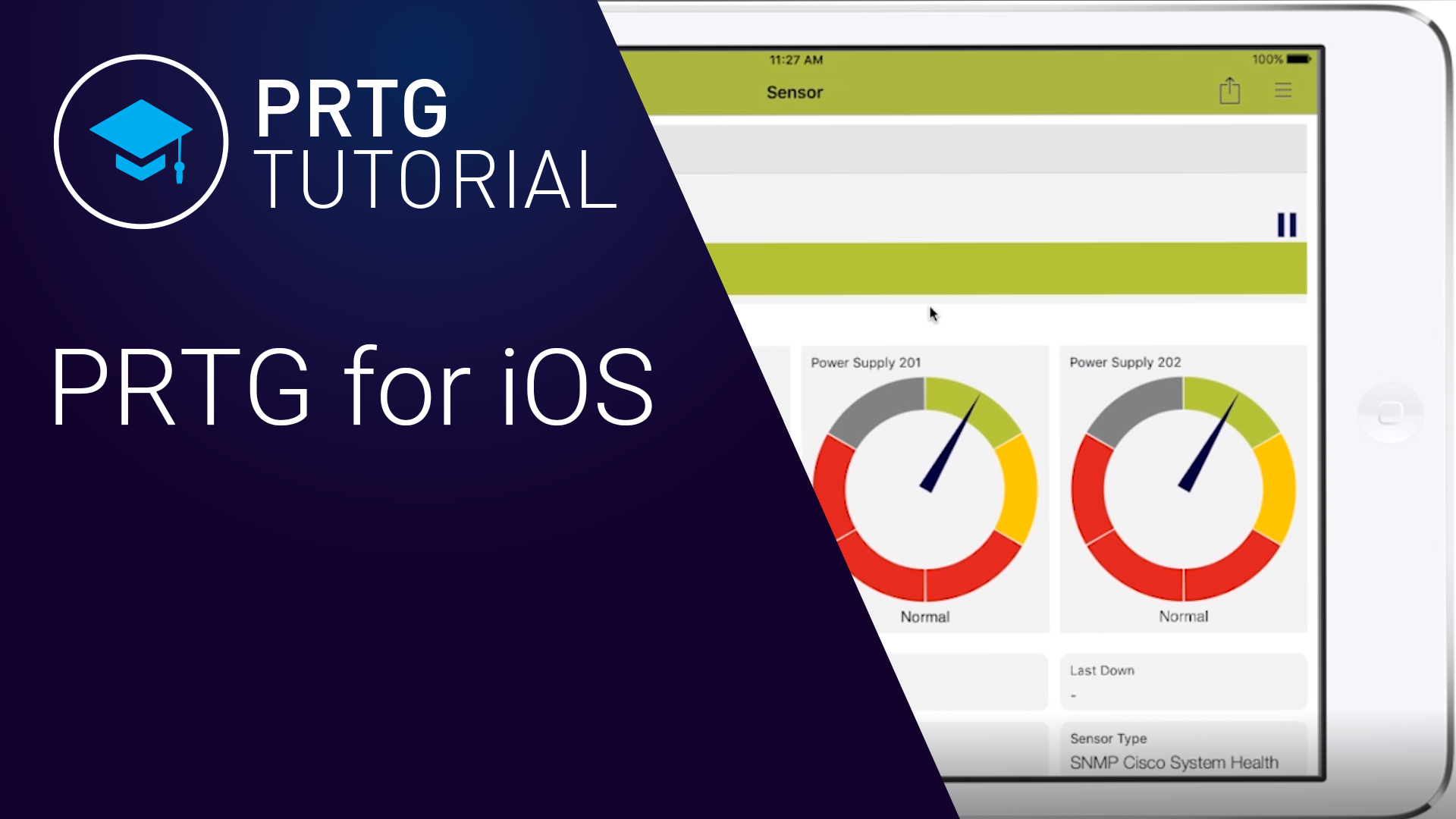 PRTG for iOS - Tutorial (Videos)