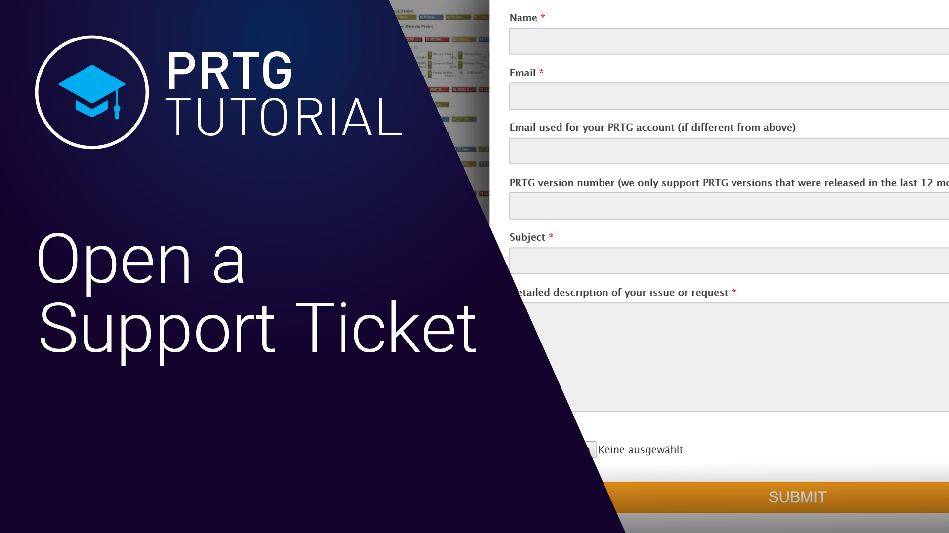 Video: Support Ticket (Videos, Tickets)