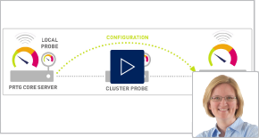 Video:Cluster in PRTG: This is how it works
