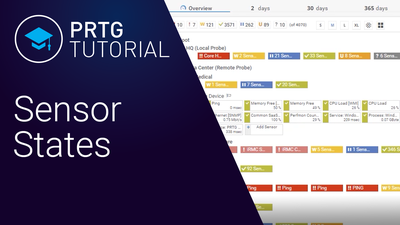 Video: Sensor states in PRTG (Videos, Sensors)