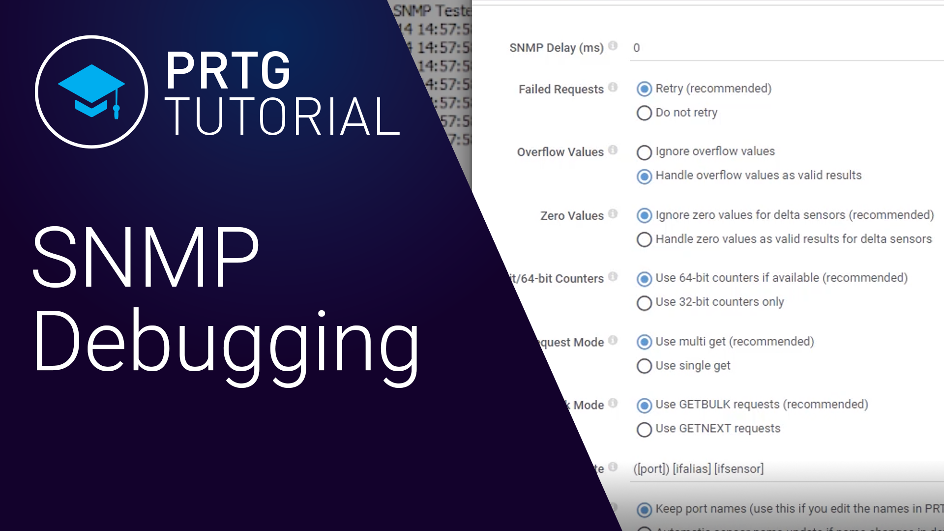 Video: PRTG - SNMP Debugging (Videos, SNMP)