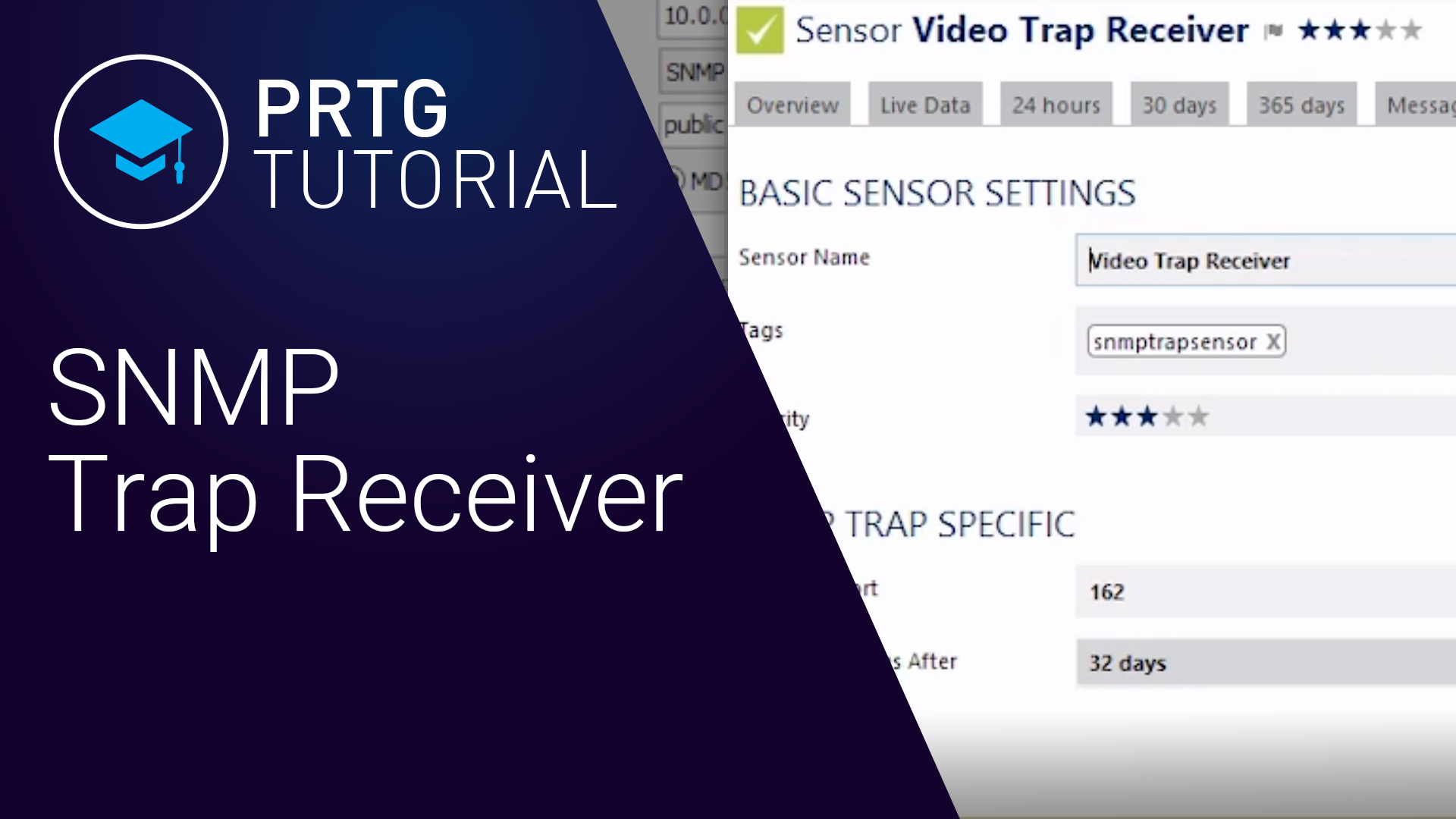 Video: PRTG Network Monitor - SNMP-Trap-Empfänger (Videos, SNMP)