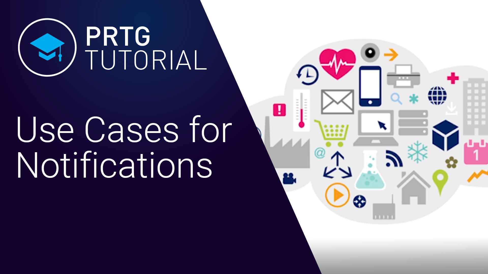Video: PRTG Network Monitor - Use cases for notifications (Videos, Notifications, Setup)