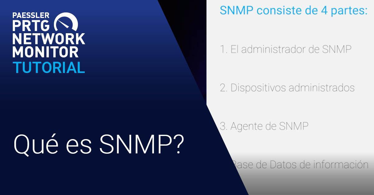 ¿Video: Qué es SNMP? (Videos, SNMP)