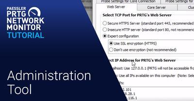 Video: PRTG Administration Tool (Videos, Applications)