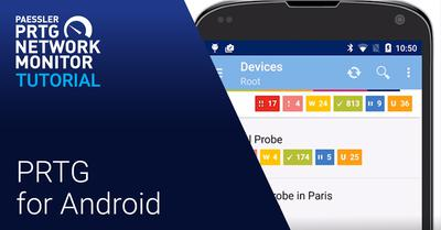 Video: PRTG for Android - Tutorial (Videos)