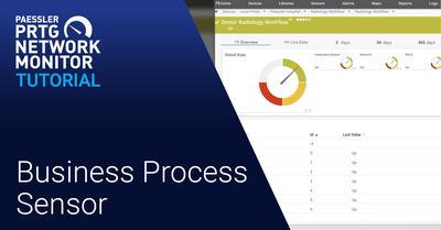 Video: Business Process Sensor (Videos, Healthcare, Sensors)