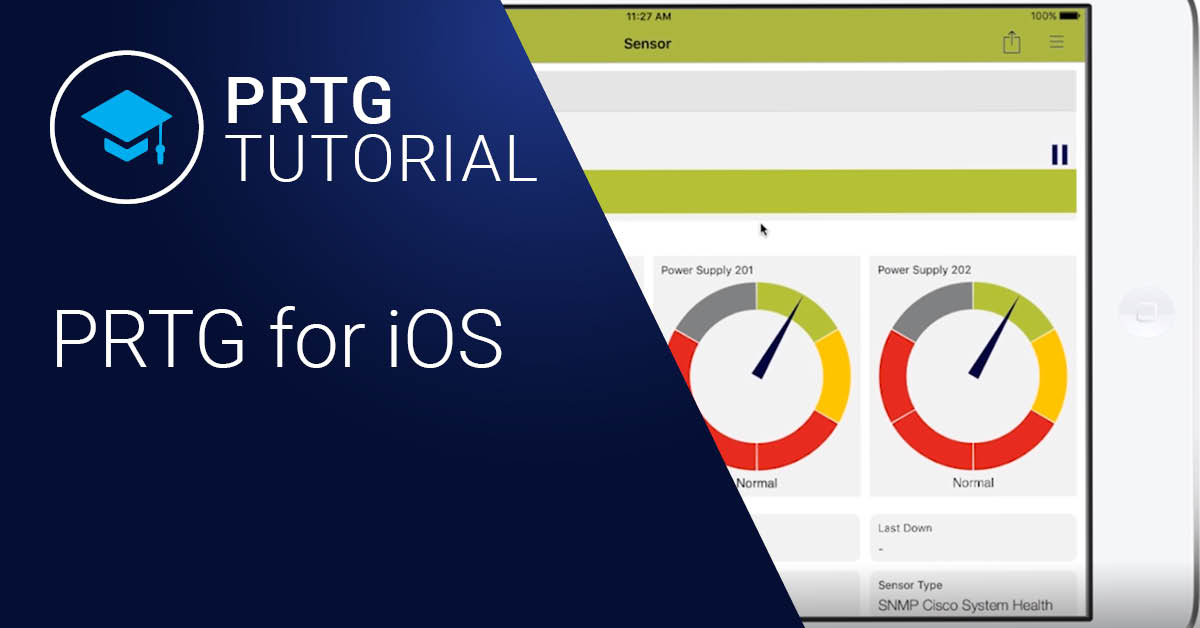 Video: PRTG for iOS - Tutorial (Videos)