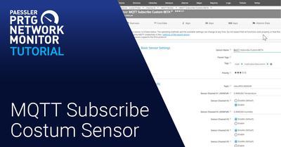 Video: MQTT Subscribe Custom Sensor (Videos, Sensors)