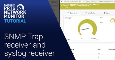 Video: SNMP Trap and syslog receiver (Videos, SNMP, Syslog)