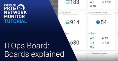 Video: ITOps Board: Boards explained (Videos, ITOps Board, PRTG Enterprise Monitor)